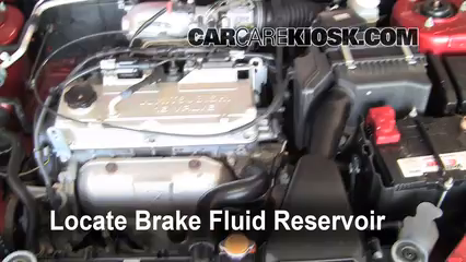 2005 Mitsubishi Lancer ES 2.0L 4 Cyl. Brake Fluid